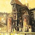 Old Gdansk - The Crane by Luke Karcz
