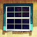 Old Glass Window by Ester  Rogers