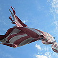 Old Glory - American Flag At The Site Of The Battle Of Bound Brook by Susan Carella
