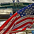 Old Glory And The Bay by Tom Gari Gallery-Three-Photography