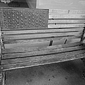 Old Glory Bench In Philadelphia by Richard Reeve
