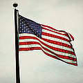 Old Glory In The Wind by Emily Kay