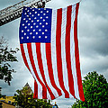 Old Glory Over Doylestown by Michael Brooks