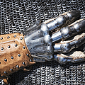 Old Glove Of A Medieval Knight by Matthias Hauser