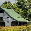 Old Gray Barn by Kathy Clark