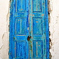 Old Greek Shutter by Corinne Rhode