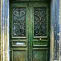 Old Green Door by Georgia Fowler