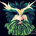 Old Green Man Winter by Kitrina Arbuckle