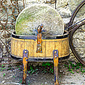 Old Grindstone by Ivan Slosar