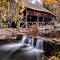 Old Grist Mill - Macedonia Connecticut  by Thomas Schoeller