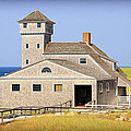 Old Harbor Lifesaving Station--cape Cod by Stephen Stookey