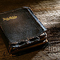 Old Holy Bible by Olivier Le Queinec