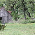 Old Horse Barn by Angie Andress
