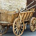 Old Horse Cart by Dean Wittle