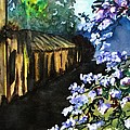 Old House And New Flowers by Lil Taylor