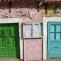 Old House Doors In Lisbon by Artur Bogacki