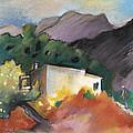 Old House In Altea La Vieja 02 by Miki De Goodaboom