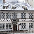 Old House In Riga by Antony McAulay