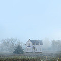 Old House In The Mist by Jill Battaglia