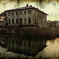 Old House On Canal by Roberto Pagani