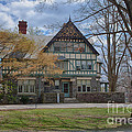 Old House On Haverford Campus by Kay Pickens