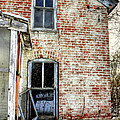 Old House Two Windows 13104 by Jerry Sodorff