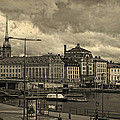 Old In Memory But Modern Copenhagen by Angela Stanton