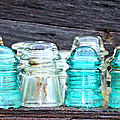 Old Insulators by Tina Meador