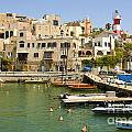 Old Jaffa Port by Tomi Junger