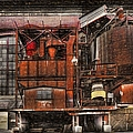 Old Kansas City Factory Building  by Liane Wright