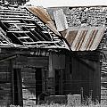 Old Kansas Homestead by Jeanette C Landstrom