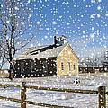 Old Kansas Schoolhouse by Liane Wright