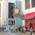Old Kaufmann's Clock by C Keith Jones