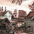 Old Kentish Oasts by MGL Meiklejohn Graphics Licensing