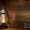 Old Kerosene Light by Olivier Le Queinec
