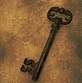 Old Key by Amanda Elwell