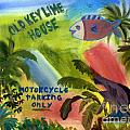 Old Key Lime House by Donna Walsh
