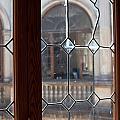 Old Lead Glass Window by Frank Gaertner