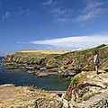 Old Lizard Head And Polpeor Cove by Rod Johnson