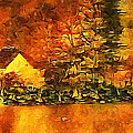 Old Log Cabin by Roman Solar
