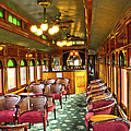 Old Lounge Car From Early Railroading Days by Paul W Faust -  Impressions of Light