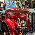 Old Mack Firetruck by Alice Gipson