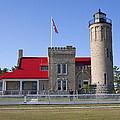 Old Mackinac Mi Lighthouse 19 by John Brueske