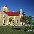 Old Mackinac Point Lighthouse by David N. Davis