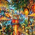 Old Magic by Leonid Afremov