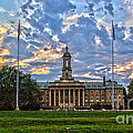 Old Main At Sunset by Tom Gari Gallery-Three-Photography