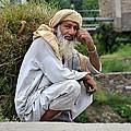 Old Man Carrying Fodder Swat Valley Kpk Pakistan by Imran Ahmed