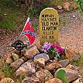 Old Man Clanton At Boot Hill by John Malone