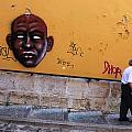 Old Man Graffiti by Luis Esteves