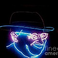 Old Man In Neon 2 by Kelly Awad